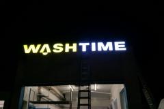 3D Werbeanlage Washtime