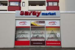 3D Buchstaben Saray Market Braunschweig